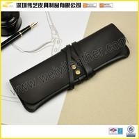 Handmade Customize Leather Pen Case Pen Holder Pencil Bag Pencil Holder Pencil Pouch