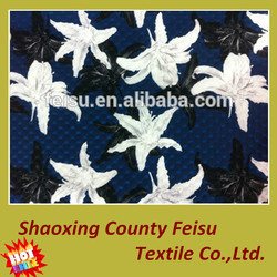 Wholesale 2015 new design tr polyester cotton knitted jacquard fabric