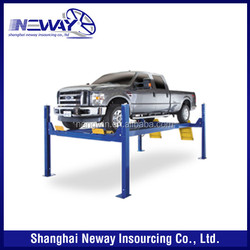 9000lbs cheap price used 4 post car lift for sale
