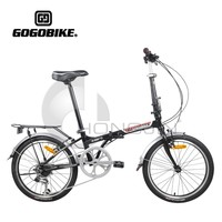7 Speed Carbon Steel Frame Folding Bicycles