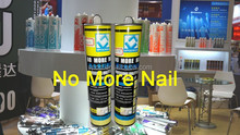 NO MORE NAIL, high strength construction adhesive, stick glue