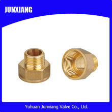 Brass straight fitting hydraulic hose fitting