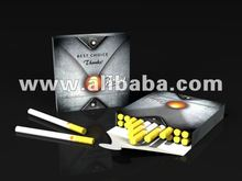Cigarette tubes 84 mm x 8,1 mm, 15 mm filter.
