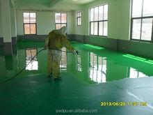 One component polyurethane indoor floor paint