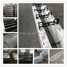 High quality EPS ICF mold/insulated concrete forms foam blocks mold