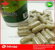 GMP G2 ginseng+ginkgo biloba hard capsule private label