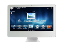 """the world's Ultrathin ,only 10mm 18.5"""" All-in-one computer with intel core 2 duo E7400 CPU"""
