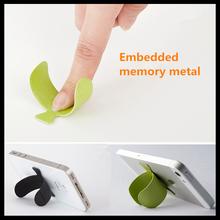Criativo suporte de silicone para o telefone móvel