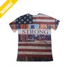 Fashion innovative flag 3d t shirt aeropostale wholesale