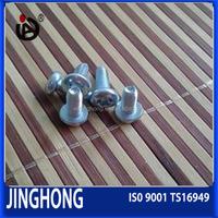 Carbon Steel DIN7500E Socket Hexagon Cheese Head Thread Rolling Taptite Screws