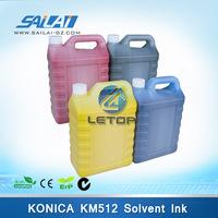 Konica solvent printer km512 35pl printing ink for myjet.(5L/bottel)
