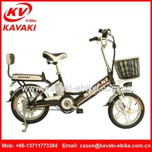 2015 Hot Selling KAVAKI E-bike Factory Cheap Price High Performance 48V240W Brushless Motor Electric Bike Used In Green City