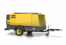 Atlas Copco Medium Compressor Single axle, oil-injected, rotary screw portable compressors, 14 bar (125-200 psig)18.6m3/min