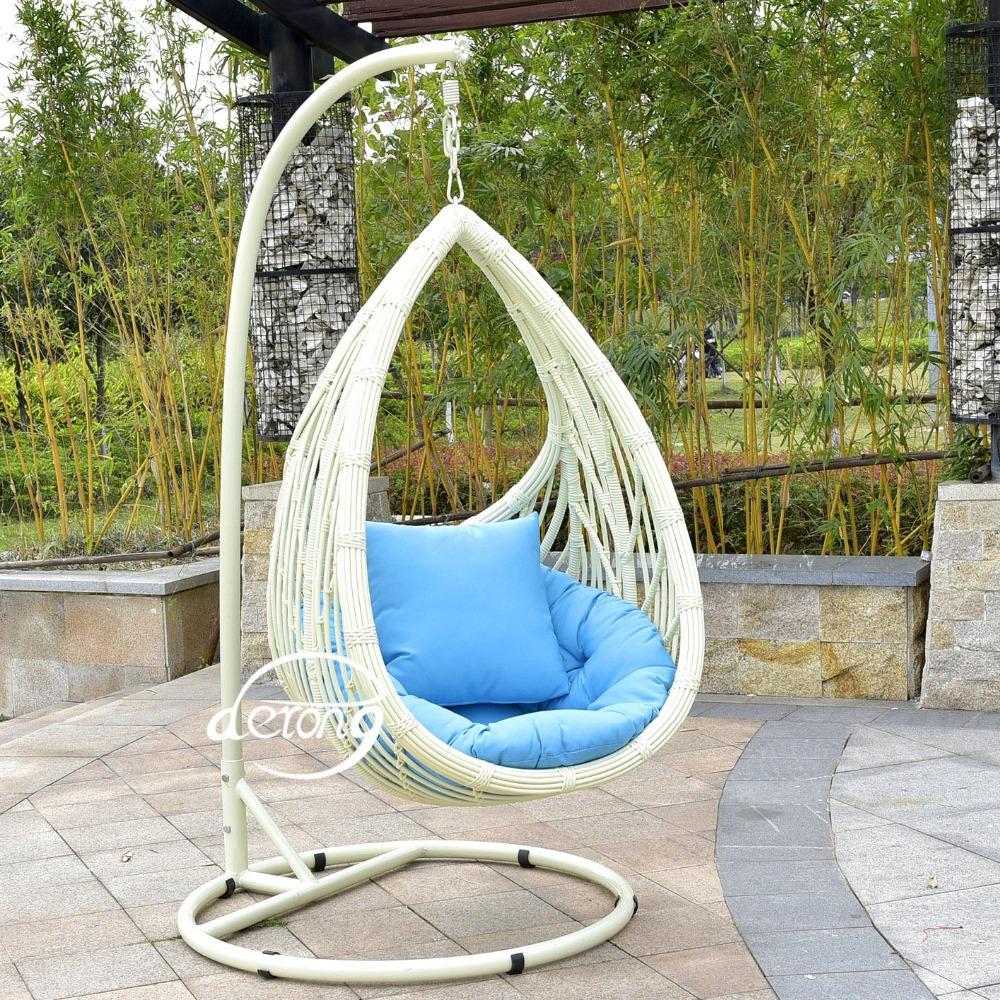 2016 en plein air en rotin suspendus chaise d 39 oeufs. Black Bedroom Furniture Sets. Home Design Ideas
