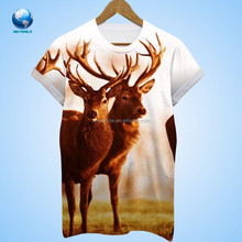 Dye Sublimation All Over Printed T-Shirts, Beautiful Sublimation Printed Tees,Customized Sublimated T Shirts