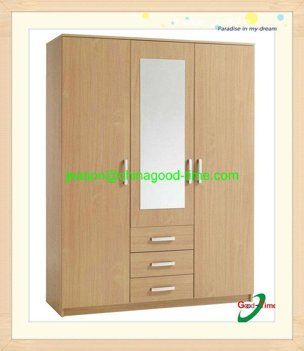 Roperos modernos de melamina imagui for Roperos empotrados para dormitorios con espejo