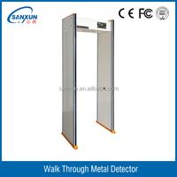 6 zones metal detector door VTS - 8206C
