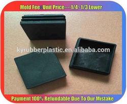 Square Plastic Feet / Plastic Feet Insert / Bed Leg Tube Insert