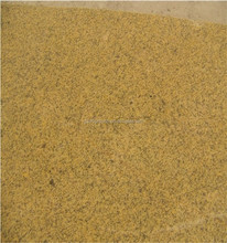 Sesame Golden Yellow Granite Specially for Wall Cladding Polish or Bush Hammered