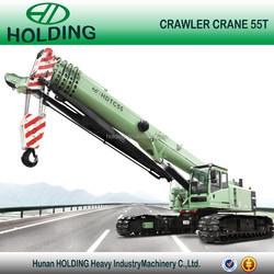 55ton HOLDING HDTC55 Telescopic boom crawler crane
