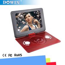 Wholesale 14.1 inch Wide Screen Portable DVD Player HOT HOT Products with Full Function High Quality Portable DVD/EVD/CD Player