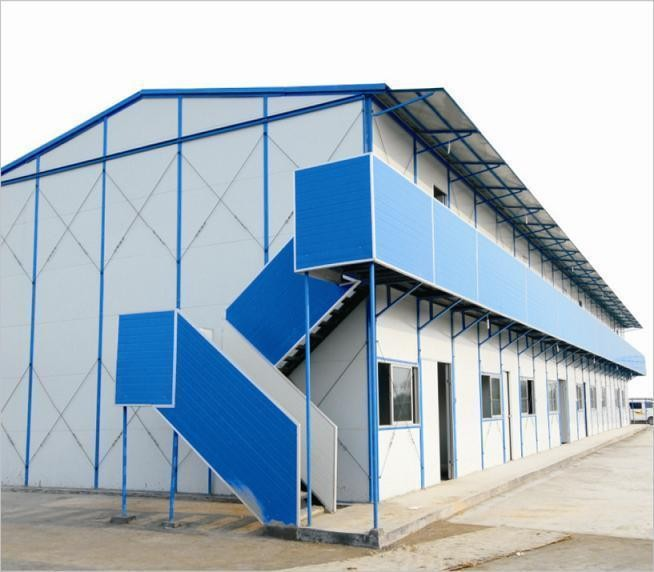china modular house cheap two layer prefab buildings for