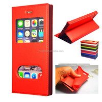 Ultra Slim MAGNETIC Flip Leather TPU Case with View Window for Samsung Galaxy Note 4