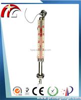 Magnetic flap level gauge float board type level indicator