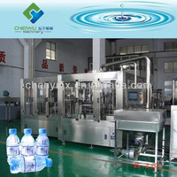 Automatic PET Bottle Mineral Water Making Line / Spring Water Filling Machine
