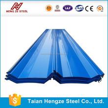 fence metal color coated corrugated steel sheet/plate/Tile Effect colored coated corrugated steel sheet