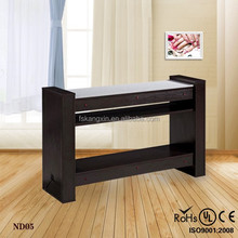 salon reception desk table for nails wholesale nail tables KZM-ND05