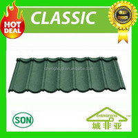 popular metal building material stone coated roofing tile