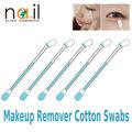 Alta- calidad de removedor de maquillaje de plástico bastoncillos de algodón