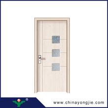 Hot sale good quality Luxury PVC door Design for MDF Door water proof double glazed glass pvc door