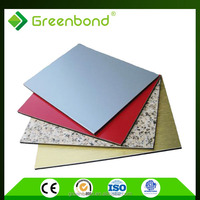shanghai greenbond roof panels material aluminum composite panel acp