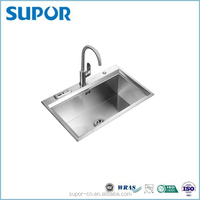 Kitchen Stainless Steel Single Bowl Sink