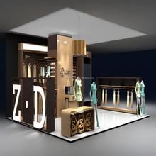 Look! Fantastic Wood Antique Cabinet Design For Garment Store