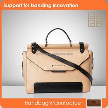 2015 fashion lady handbag leather women satchel bag