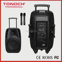 12 inch trolley battery speaker powerful bluetooth speaker mobile bluetooth trolley speaker