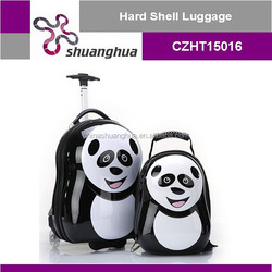 animal kids luggage case