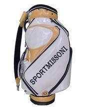 2015 PU new design cheap OEM golf BAG / pu golf carry bag /light weight stand golf bag