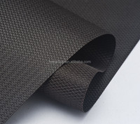 Customized artwork carrying packs polyester jacquard fabric with pvc backing