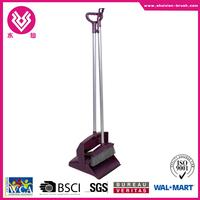 cheap durable long handle broom and dustpan