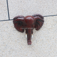 Home decoration wall decor colorful resin elephant