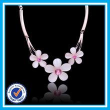 Elegant jewellery turkey flower 2015 fashion necklaces jewelry