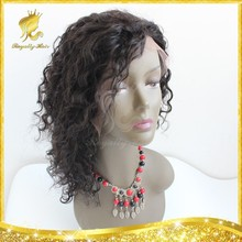 6A Glueless Full Lace Human Hair Wigs For Black Women,Indian Virgin Hair Curly Lace Front Wig,8-24inch Best Hair Wigs