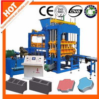 cement block machine supplier in kolkata QT5-15 fully automatic fly ash brick making machine