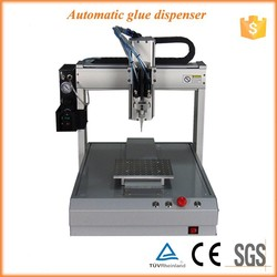 Desktop type 3 axis conductive glue dispensing robot