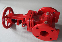 FM UL approval 300PSI OSY flanged end gate valve fire control