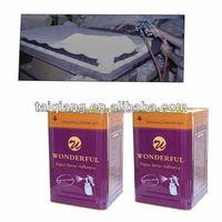 non-flammable spray adhesive